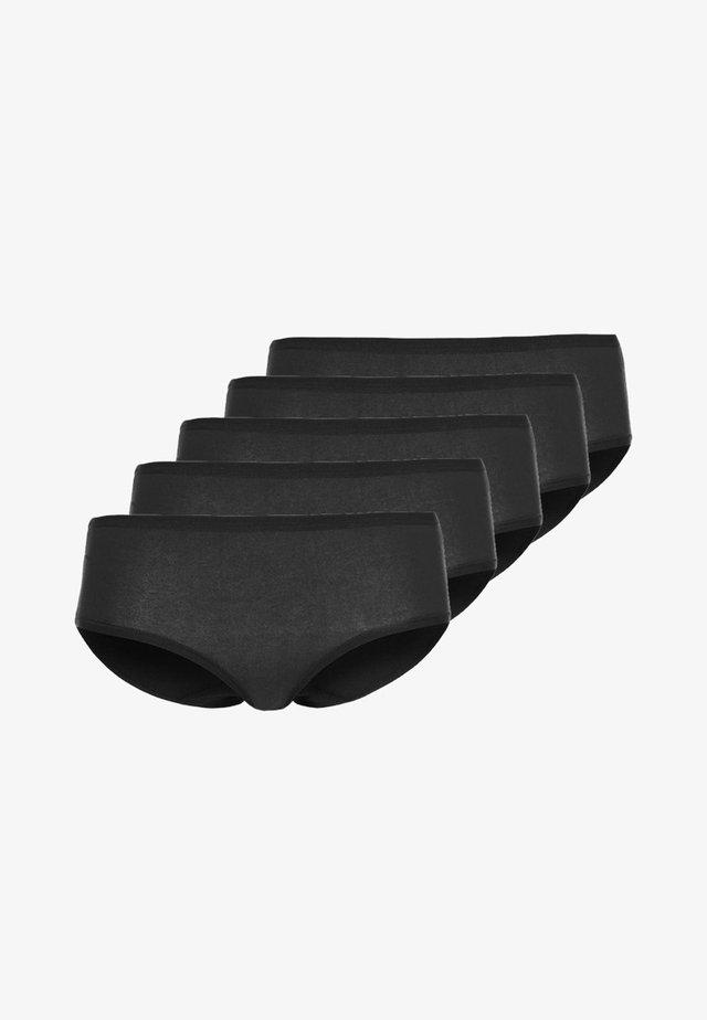 5 PACK - Slip - black