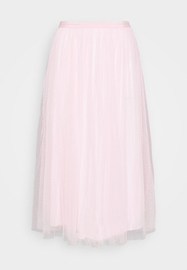 MIDI SKIRT - A-Linien-Rock - pale pink