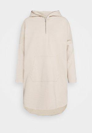 XONDA HOODY DRESS - Day dress - ecru white