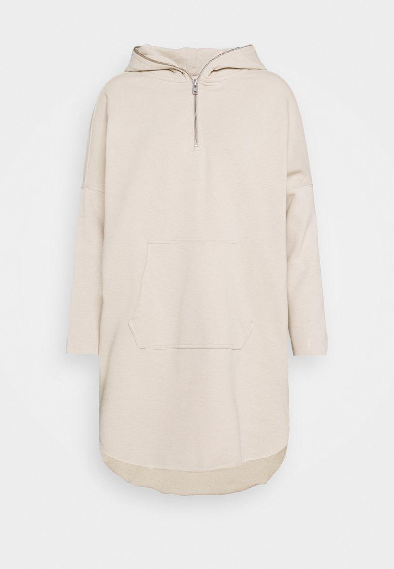 AllSaints - XONDA HOODY DRESS - Day dress - ecru white