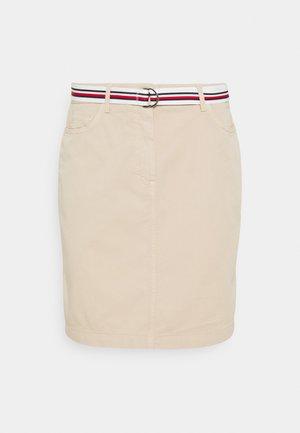 ROME SHORT SKIRT - Pencil skirt - classic beige