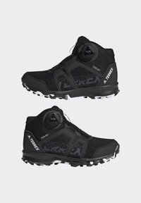 adidas Performance - TERREX BOA MID R.RDY UNISEX - Trekingové boty - core black/ftwr white/grey three - 5