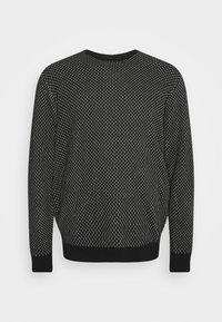 Blend - Stickad tröja - black - 5