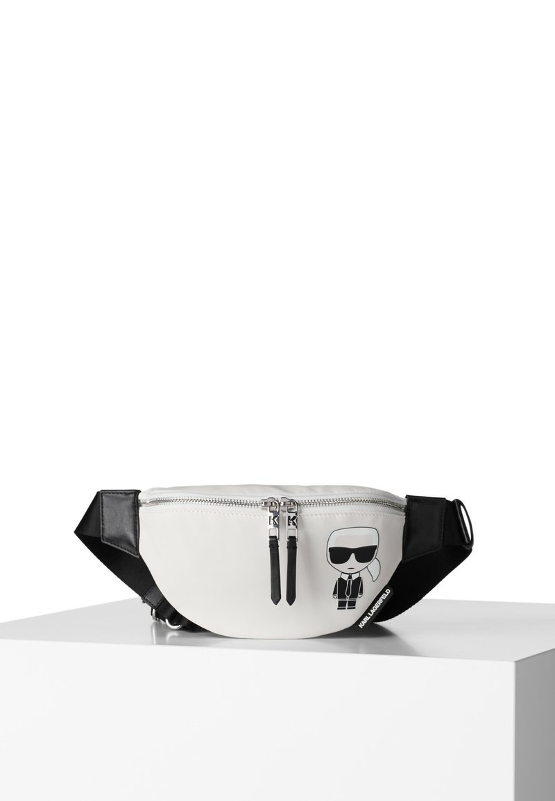 KARL LAGERFELD - Bum bag - white