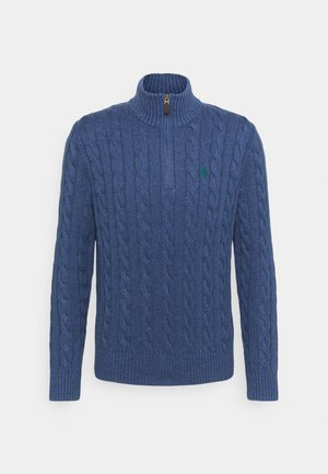 Jersey de punto - derby blue heathe