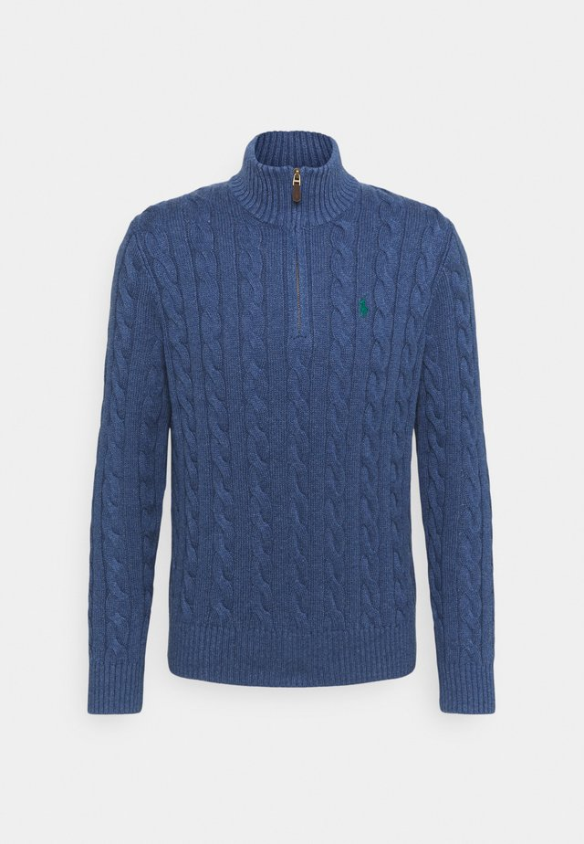 Strickpullover - derby blue heathe