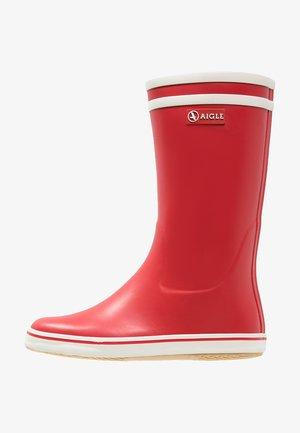 MALOUINE - Botas de agua - rouge