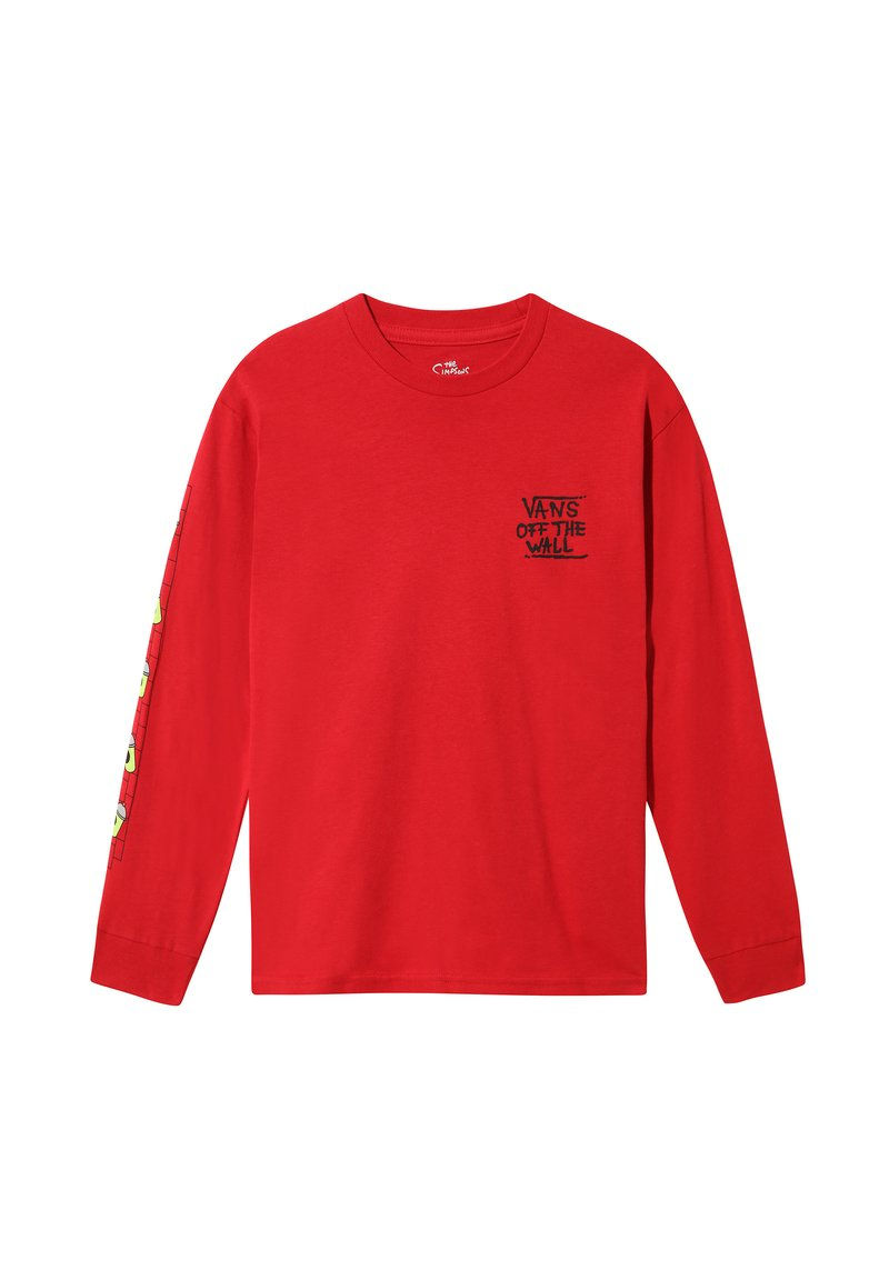 Vans - THE SIMPSONS EL BARTO LS - T-shirt z nadrukiem - (the simpsons) el barto