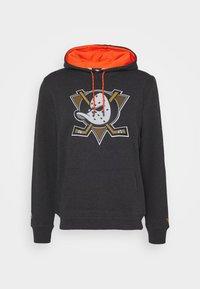 Fanatics - NHL ANAHEIM DUCKS ICONIC BACK TO BASICS OVERHEAD HOODIE - Mikina skapucí - charcoal - 4