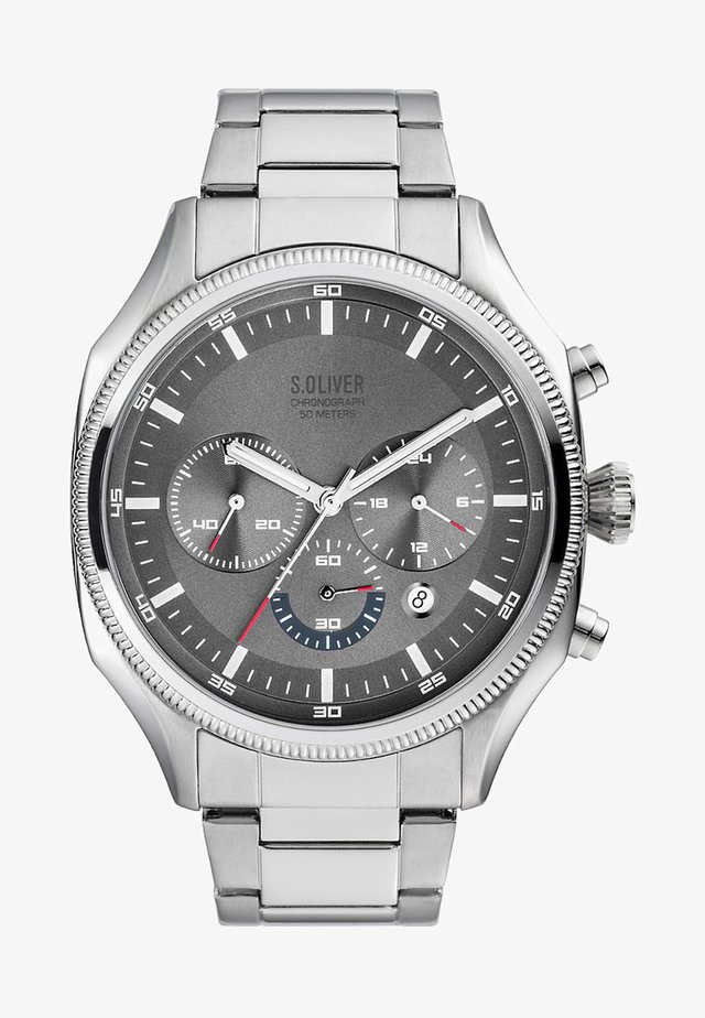 Chronograph watch - silver