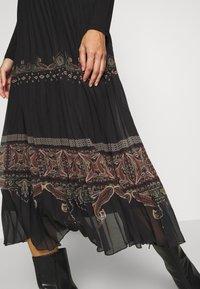 Desigual - FAL MURRAY - A-line skirt - black - 5