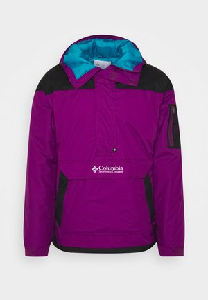 CHALLENGER - Windbreaker - plum/black