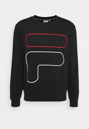 LATANUS CREW - Sweatshirts - black