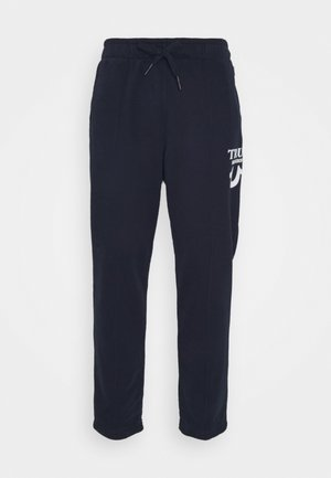 PANT HORSESHOE PUFFY  - Tracksuit bottoms - navy