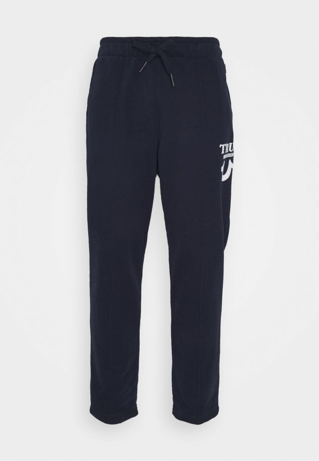 PANT HORSESHOE PUFFY  - Teplákové kalhoty - navy