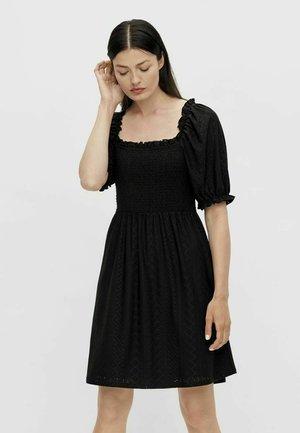 STICKEREI - Day dress - black