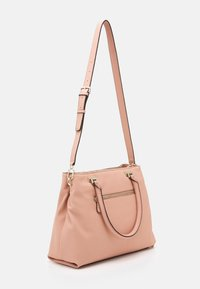 Guess - HANDBAG DESTINY SOCIETY CARRYALL - Handbag - blush - 1