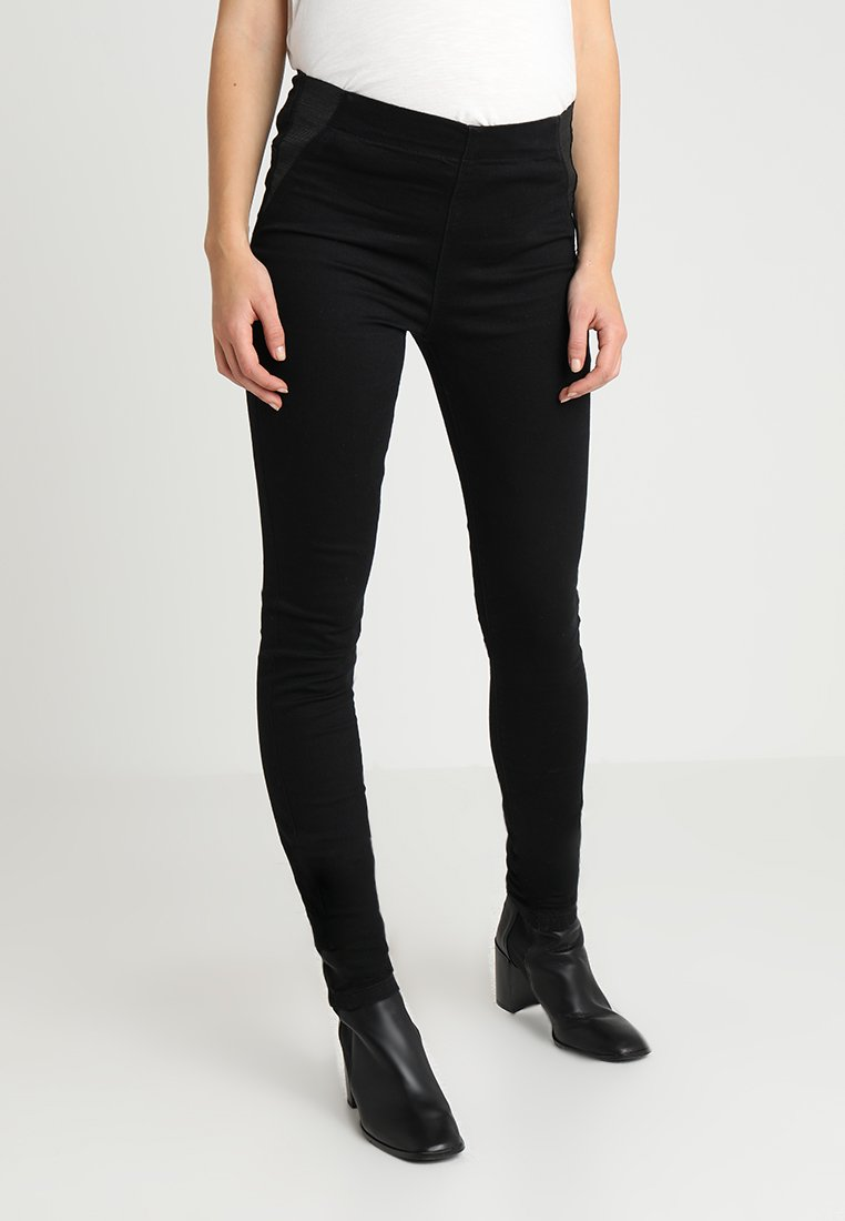 MAMALICIOUS - Jeans Skinny Fit - jeansblack denim