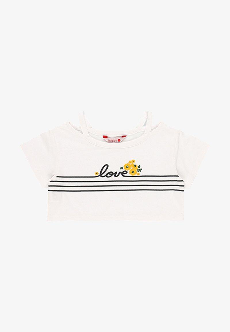 Boboli - T-shirt print - white