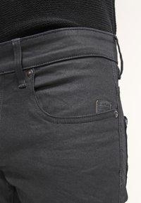 G-Star - REVEND SKINNY - Jeans Skinny Fit - black pintt stretch denim - 5