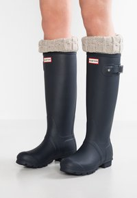 Hunter ORIGINAL - ORIGINAL TALL VEGAN - Wellies - Kalosze - navy - 0