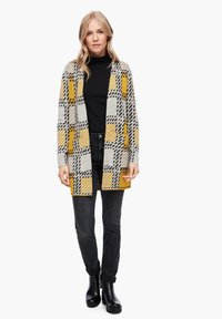 s.Oliver - Cardigan - yellow check - 1