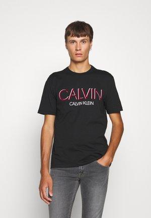 SHADOW LOGO - T-shirts print - black