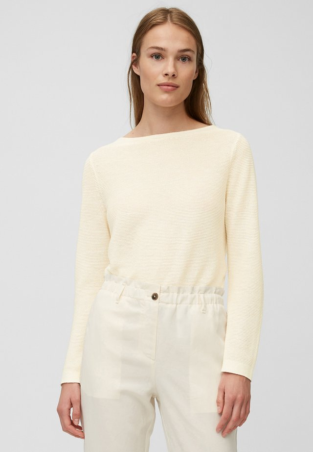 Sweter - natural white