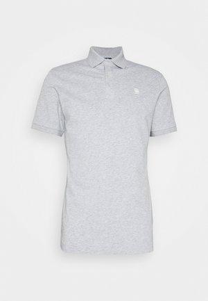 DUNDA SLIM - Polo - grey heather