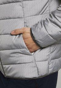TOM TAILOR DENIM - LIGHTWEIGHT JACKET - Light jacket - dark grey printed melange - 3