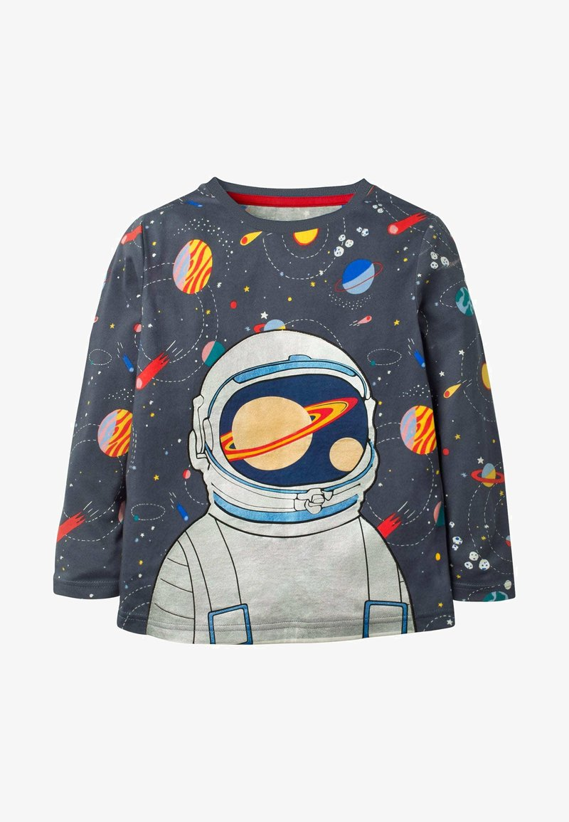 Boden - Long sleeved top - anthrazit, astronaut im weltall