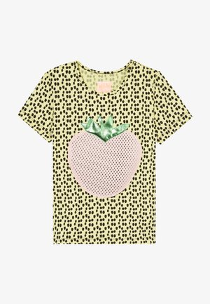 JOHANNA - Print T-shirt - yellow