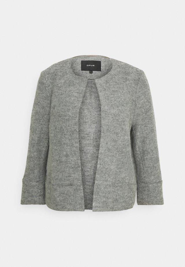 HARIKA - Blazer - iron grey melange