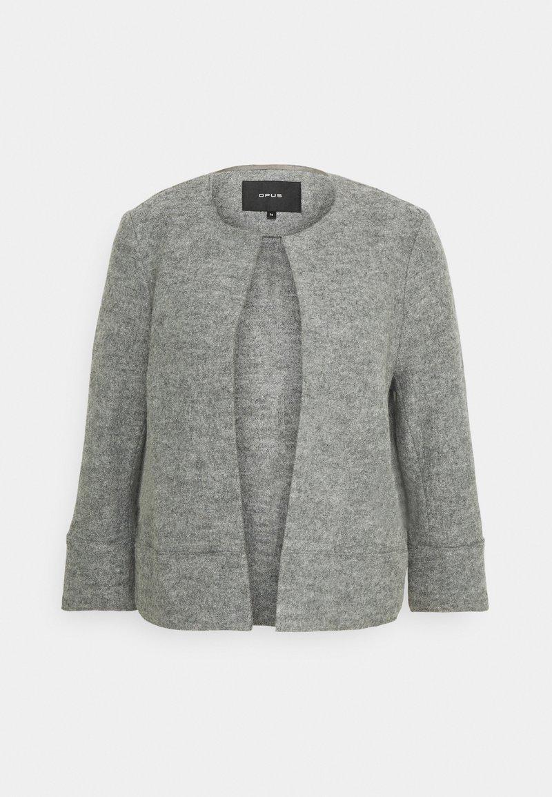 Opus - HARIKA - Blazer - iron grey melange