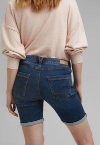 Esprit - Denim shorts - blue medium washed - 2