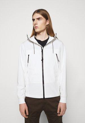 OUTERWEAR  SHORT JACKET - Summer jacket - gauze white