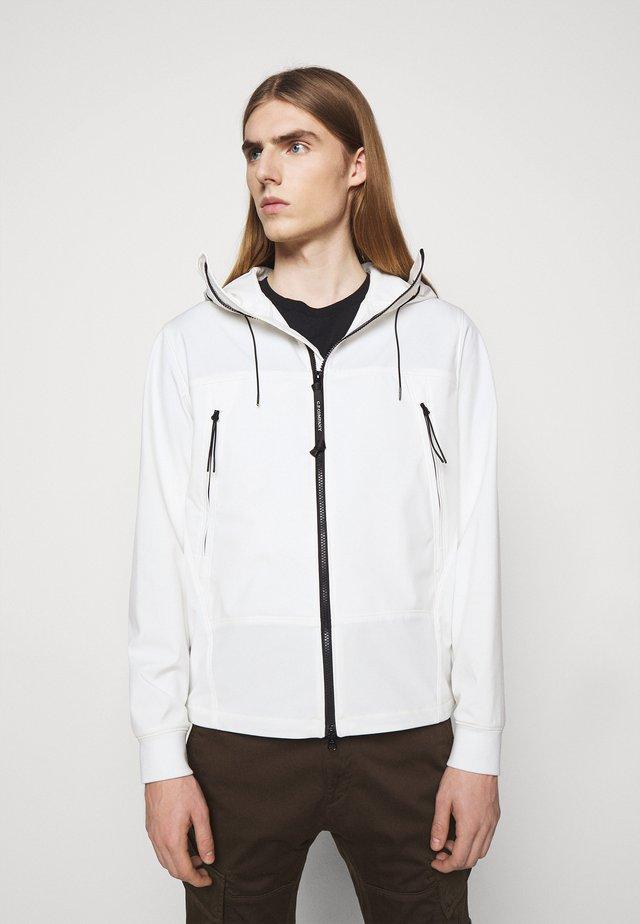 OUTERWEAR  SHORT JACKET - Leichte Jacke - gauze white