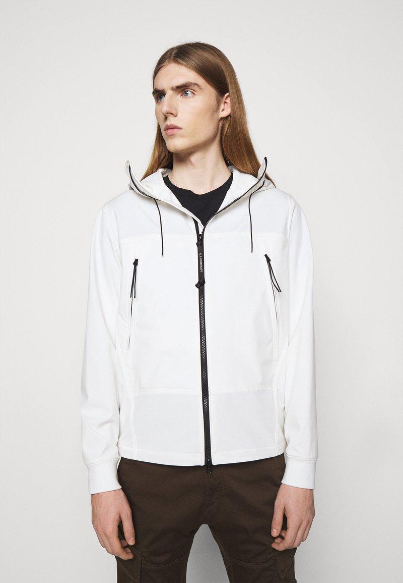 C.P. Company - OUTERWEAR  SHORT JACKET - Summer jacket - gauze white