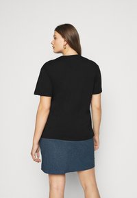 Even&Odd Curvy - Print T-shirt - black - 2