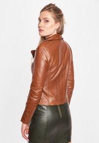 BTFCPH - MIA - Leather jacket - dark cognac - 4