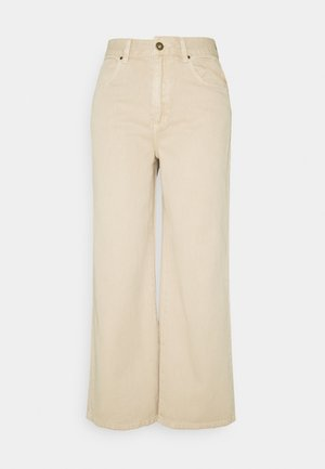 WIDE LEG - Flared Jeans - cinnamon
