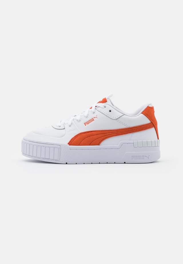 CALI SPORT  - Zapatillas - white/ultra orange