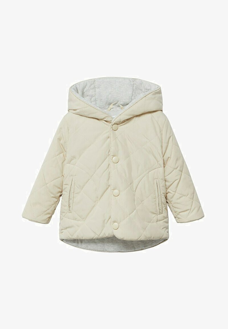 Mango - Winter jacket - ecru