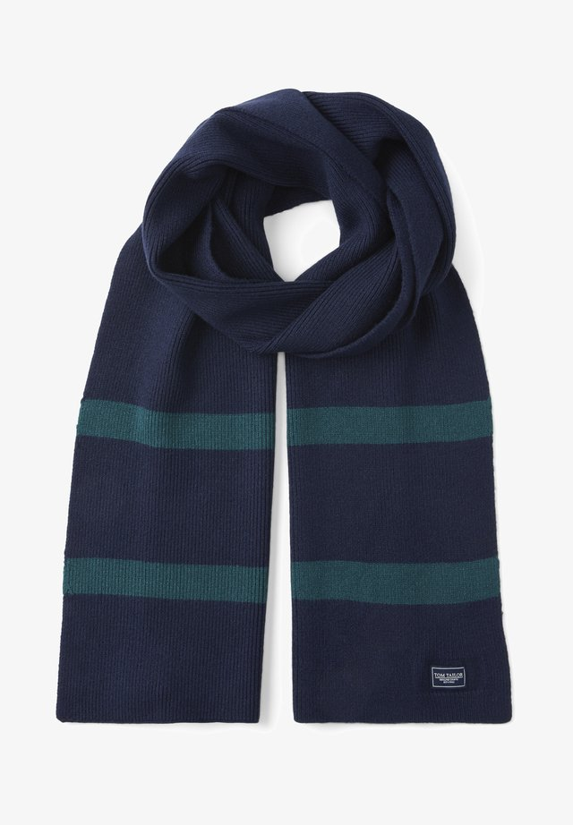Scarf - sky captain blue