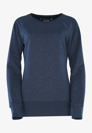 Sweatshirt - navy / printed
