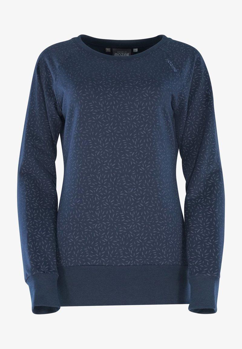 Mazine - Sweatshirt - navy / printed