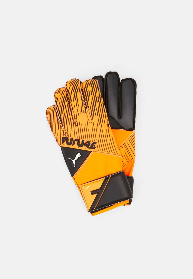 FUTURE GRIP UNISEX - Maalivahdin hanskat - shocking orange/black/white