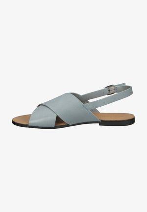 Sandały - powder blue