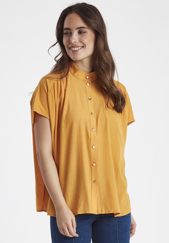 DRILAYA  - Button-down blouse - yellow