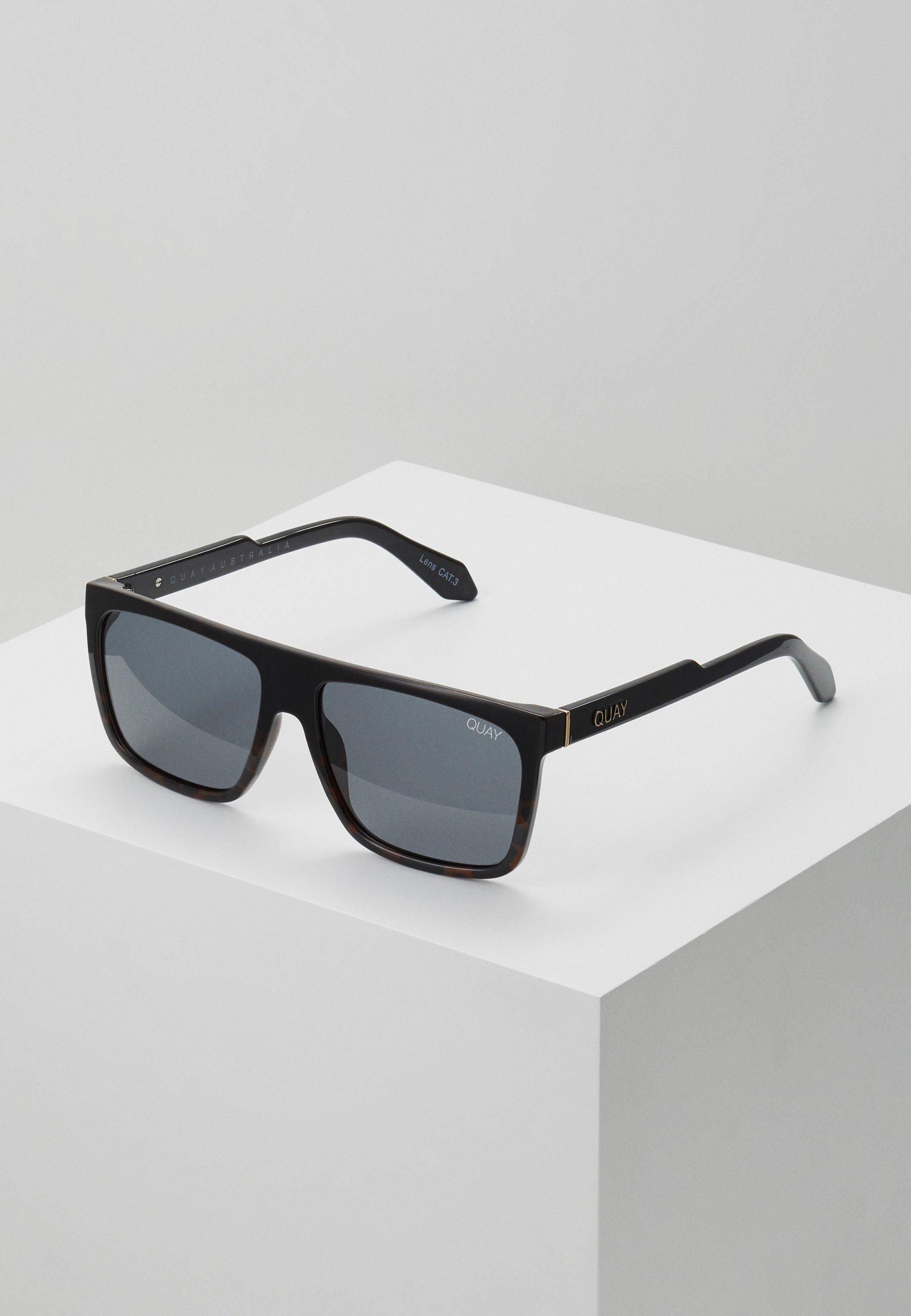 Women FRONTRUNNER - Sunglasses - black to tort